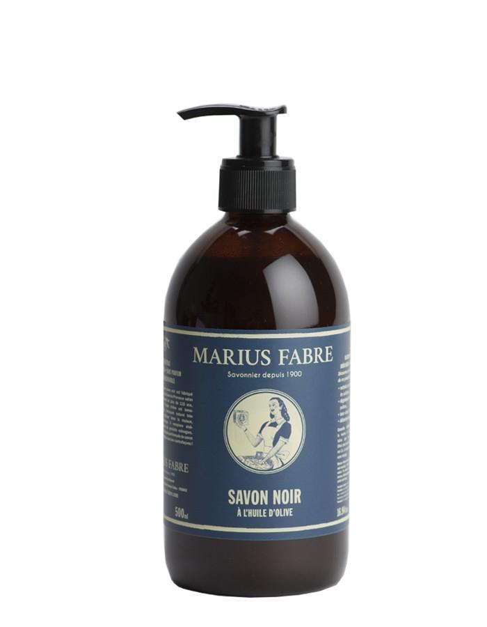 Liquid olive oil black soap NATURE 500ml pump